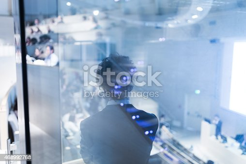 istock Business Conference and Presentation. 468992768