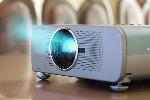 business conference - projection equipment stock pictures, royalty-free photos & images
