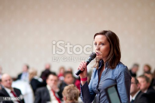 istock Business conference 187896492