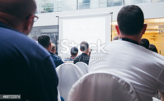 istock Business Conference 493722074