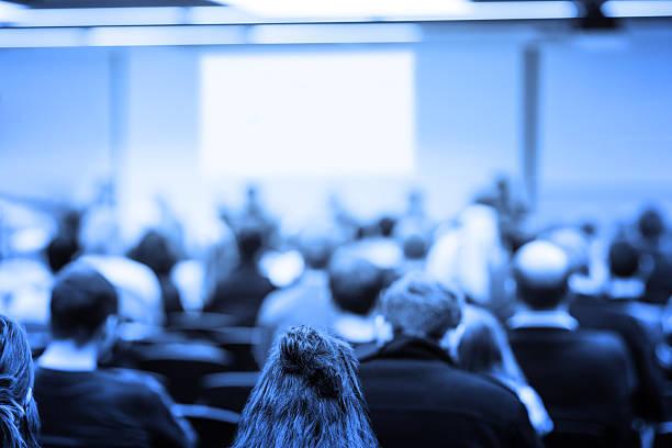 business-konferenz - leiterdisplay stock-fotos und bilder