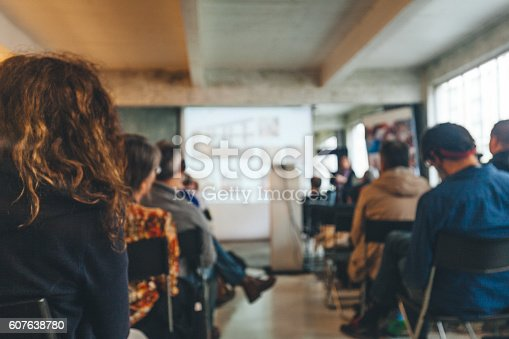 istock Business Conference 607638780