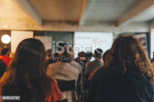 614852062 istock photo Business Conference 609533762