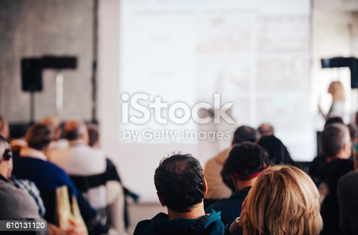 istock Business Conference 610131120