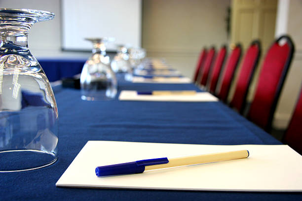 Business Conference Room stock photo