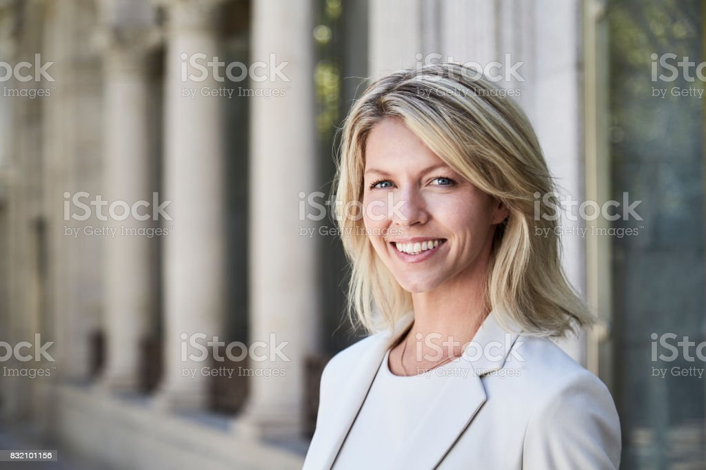 Business confidence stock photo