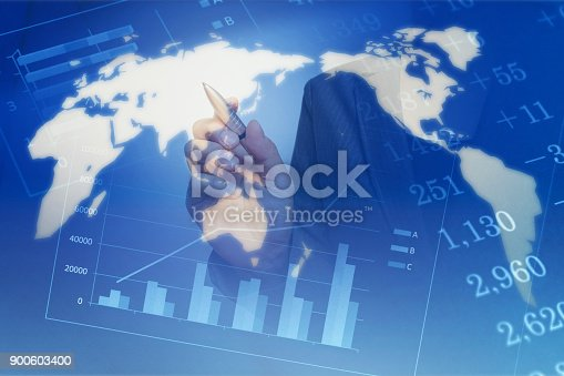 807104524 istock photo Business consept, Financial graphs 900603400