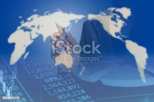 807104524 istock photo Business consept, Financial graphs 900603428