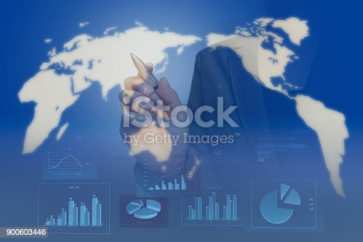 807104524 istock photo Business consept, Financial graphs 900603446