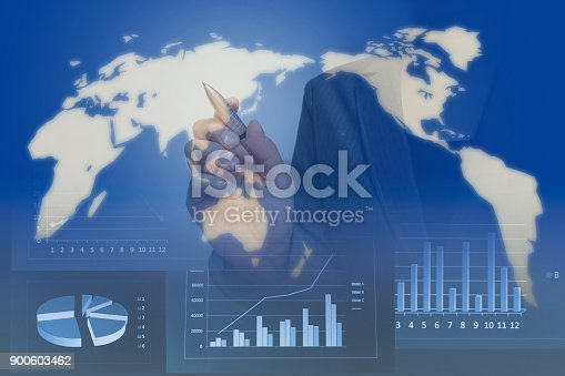 807104524 istock photo Business consept, Financial graphs 900603462