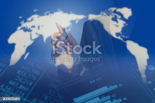 807104524 istock photo Business consept, Financial graphs 900603484