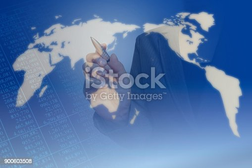 807104524 istock photo Business consept, Financial graphs 900603508