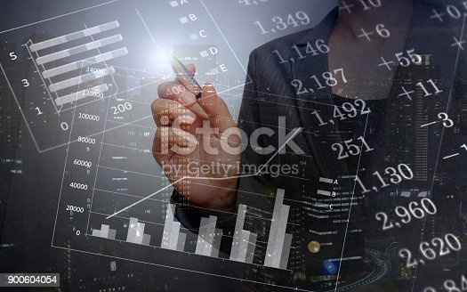 807104524 istock photo Business consept, Financial graphs 900604054