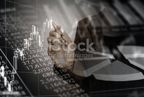 807104524 istock photo Business consept, Financial graphs 900604090