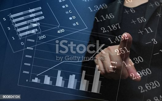 807104524 istock photo Business consept, Financial graphs 900604104