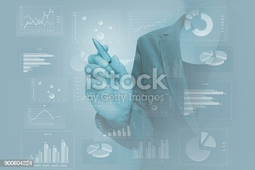 807104524 istock photo Business consept, Financial graphs 900604224