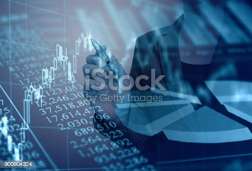 807104524 istock photo Business consept, Financial graphs 900604324