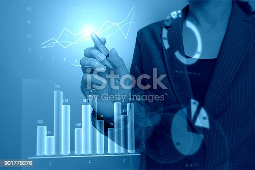 807104524 istock photo Business consept, Financial graphs 901779276