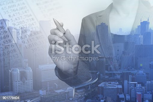 807104524 istock photo Business consept, Financial graphs 901779404