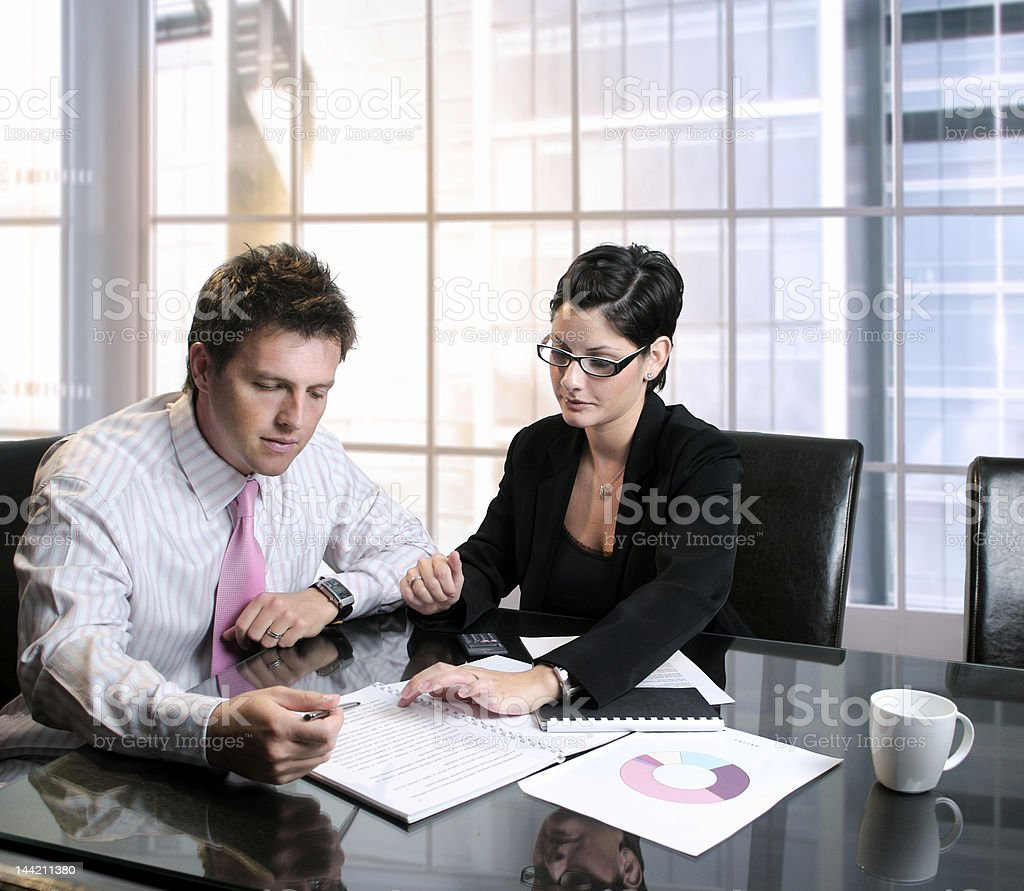 Business Consultation stock photo