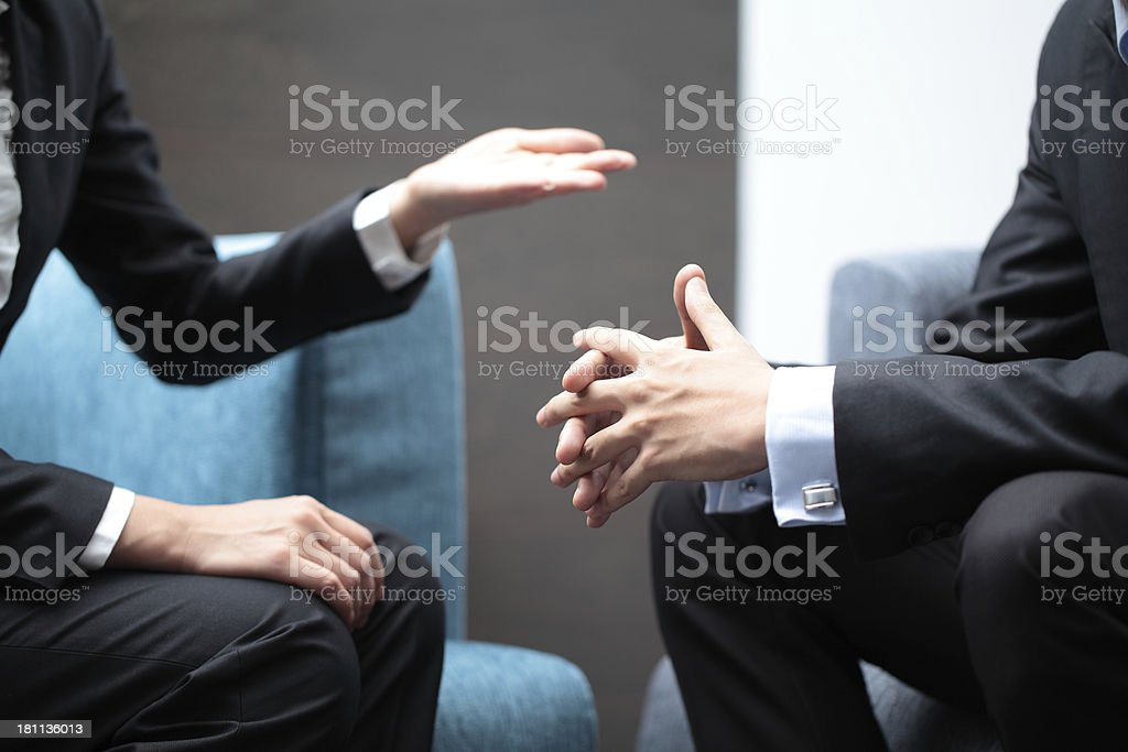 Business Consultation stock photo