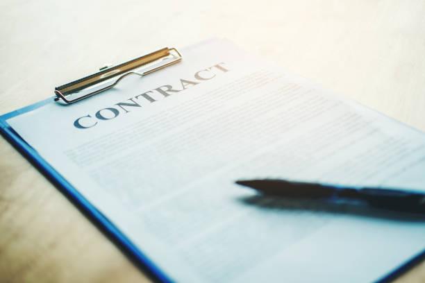 業務契約 - 契約 ストックフォトと画像