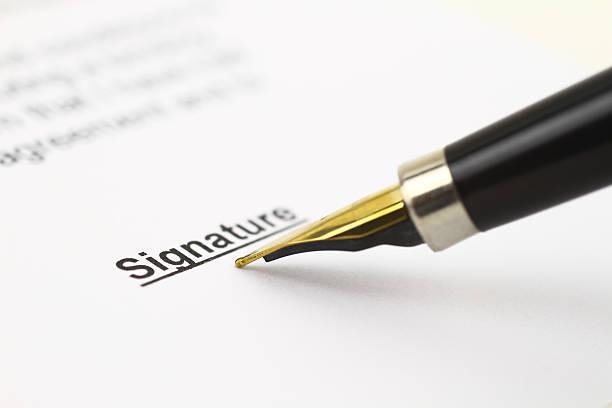 Vertrag für Business-Mitglieder – Foto