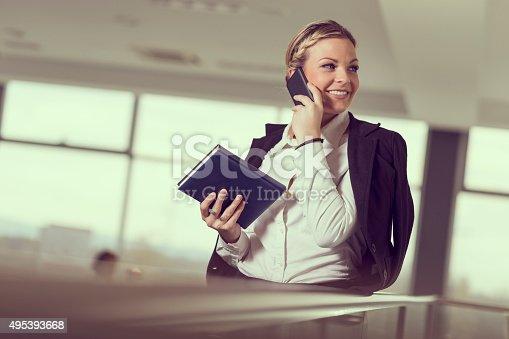 istock Business conversation 495393668