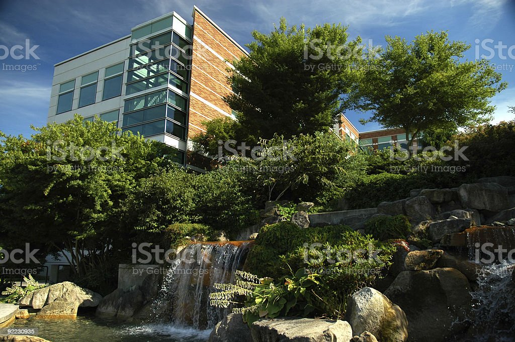 Business - Corporate Building royalty-free stock photo