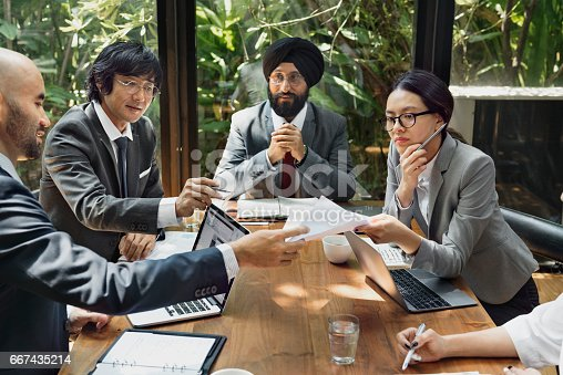 istock Business Corporate People Working Concept 667435214