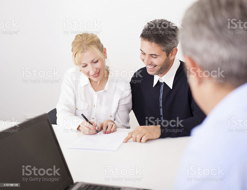 Business counseling royalty-free stock photo