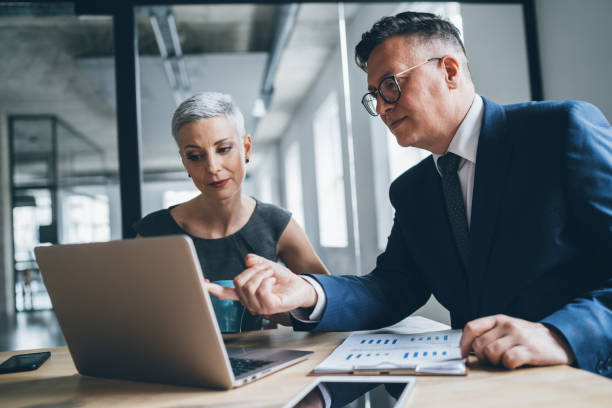 Business coworkers stock photo