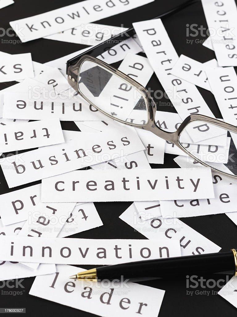 Business creativity stock photo