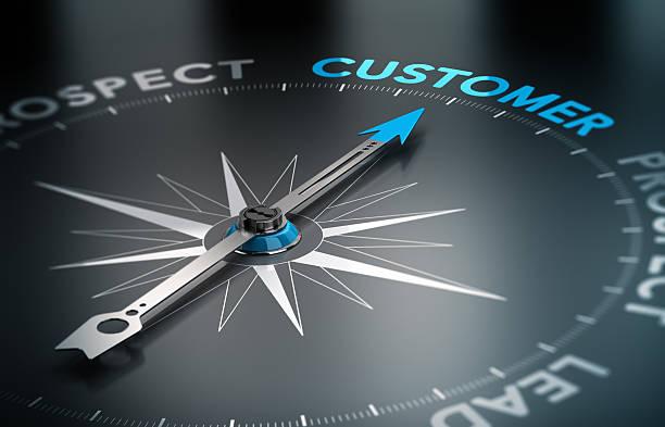 Concept d'affaires-client - Photo