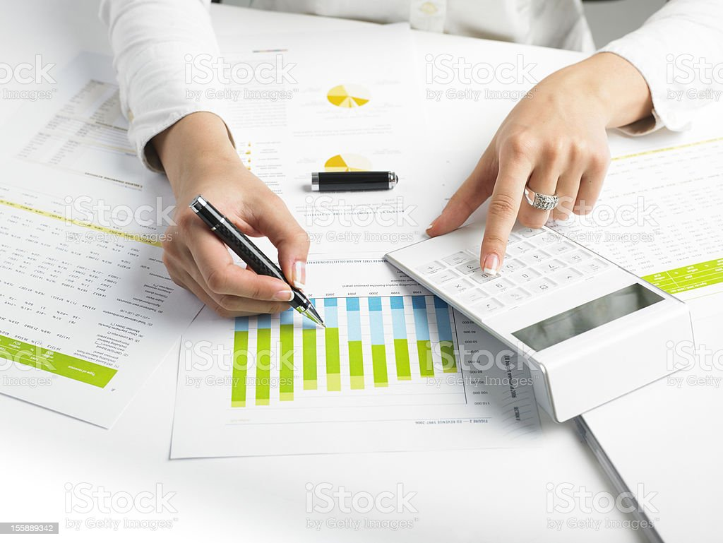 Business Data Analyzing More similar images find here: Analyzing Stock Photo