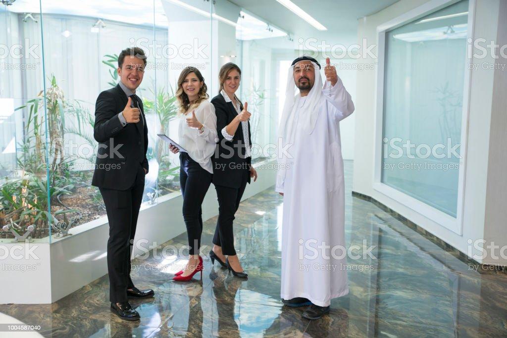 Geschäft Händeschütteln Business Lizenzfreies stock-foto