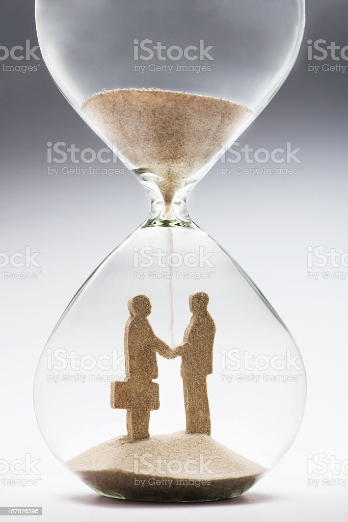 Business deal stock photo