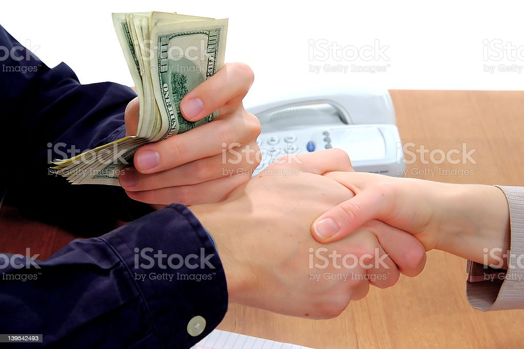 Business Deal Sealed 1 stock photo