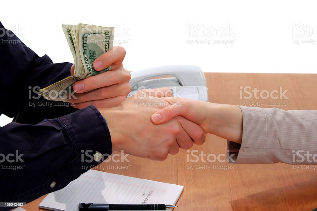 Business Deal Sealed 2 stock photo