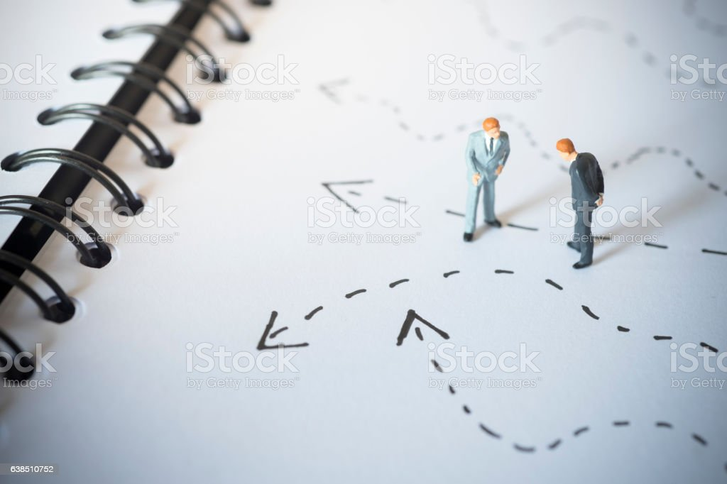 Business decision concept. stock photo