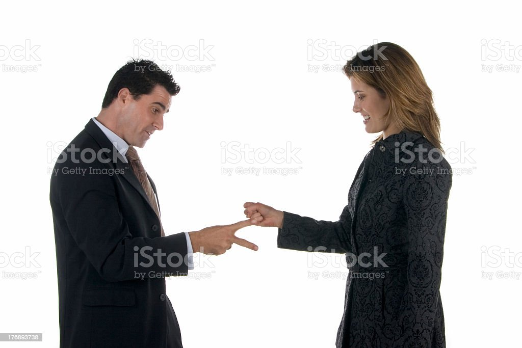 Business: decision making stock photo
