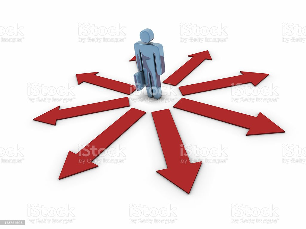 Business Decision stock photo