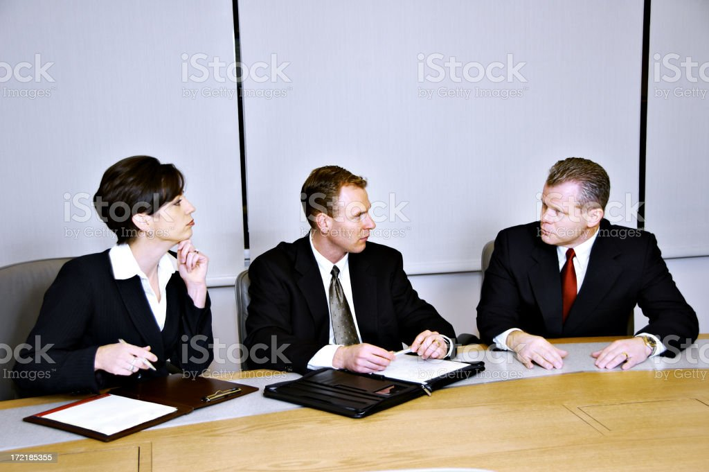 Business Decisions royalty-free stock photo
