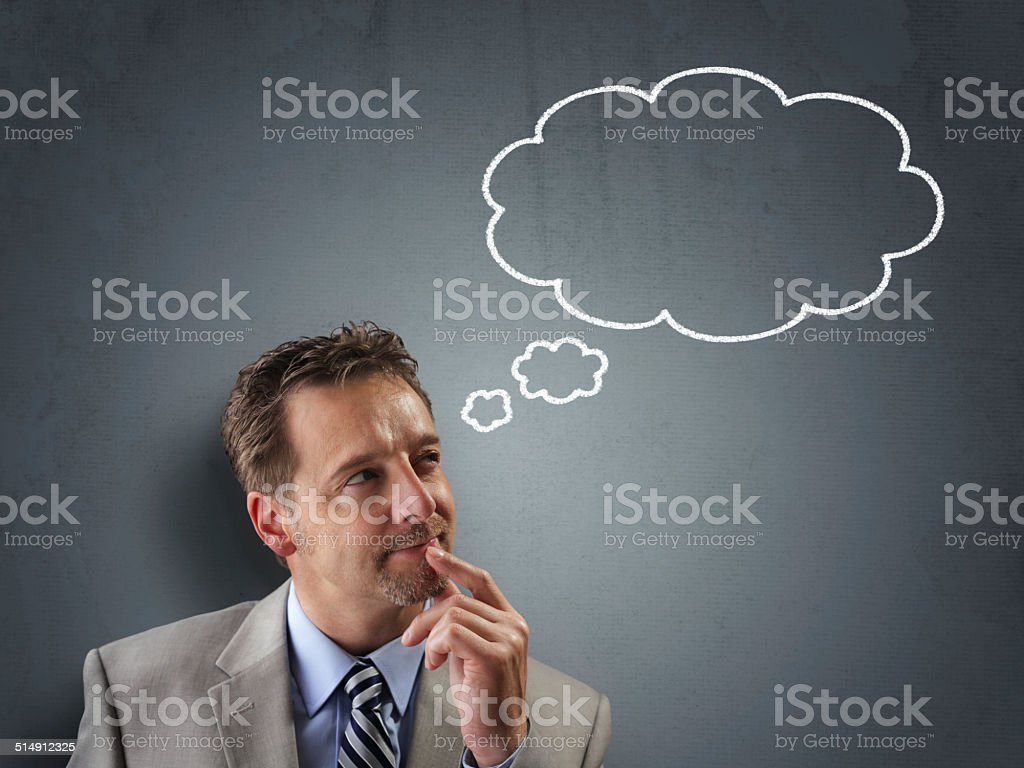 Business decisions stock photo