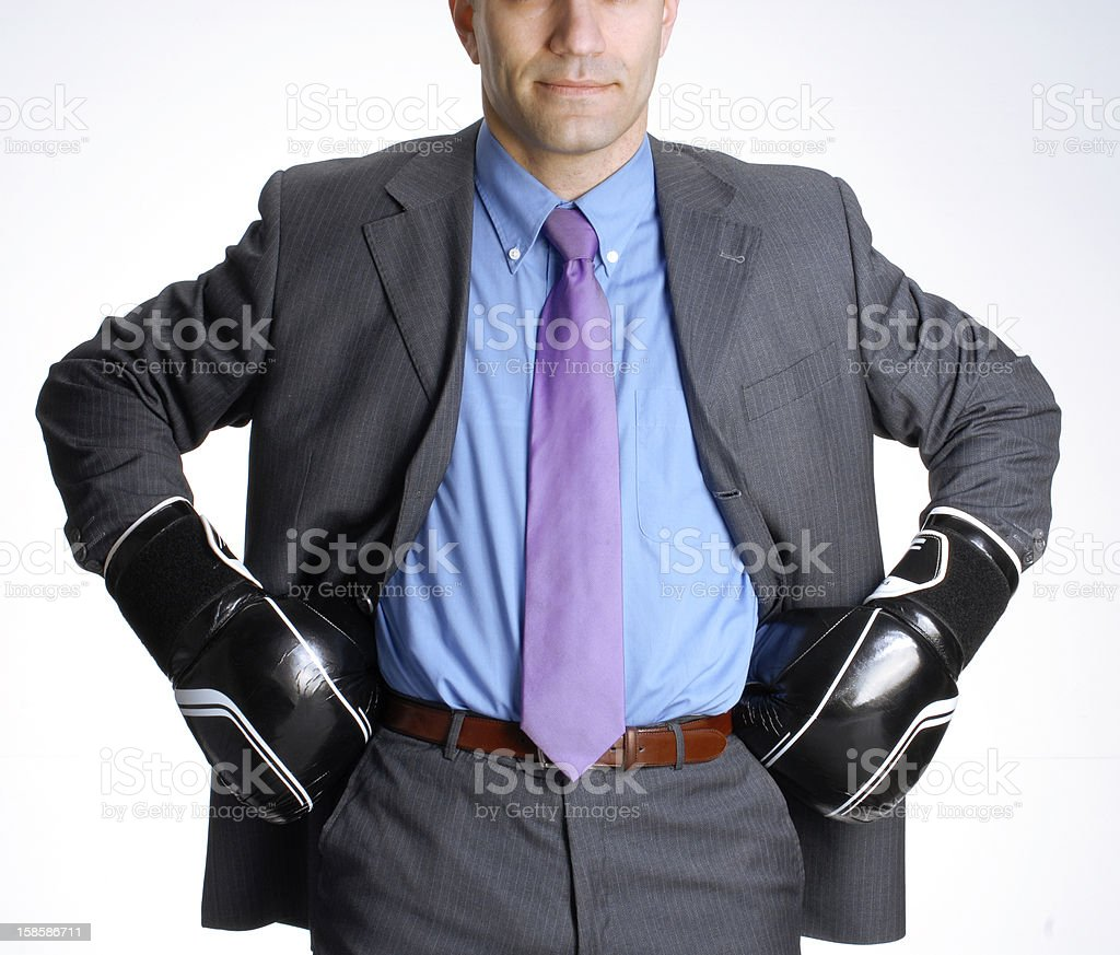 business defense. royalty-free stock photo