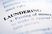 istock Business definitions: Laundering 1060806352