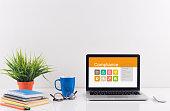 Business desk concept - Compliance