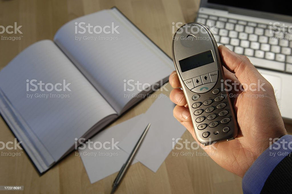 business desk series stock photo