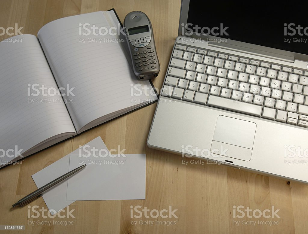 business desk series royalty-free stock photo
