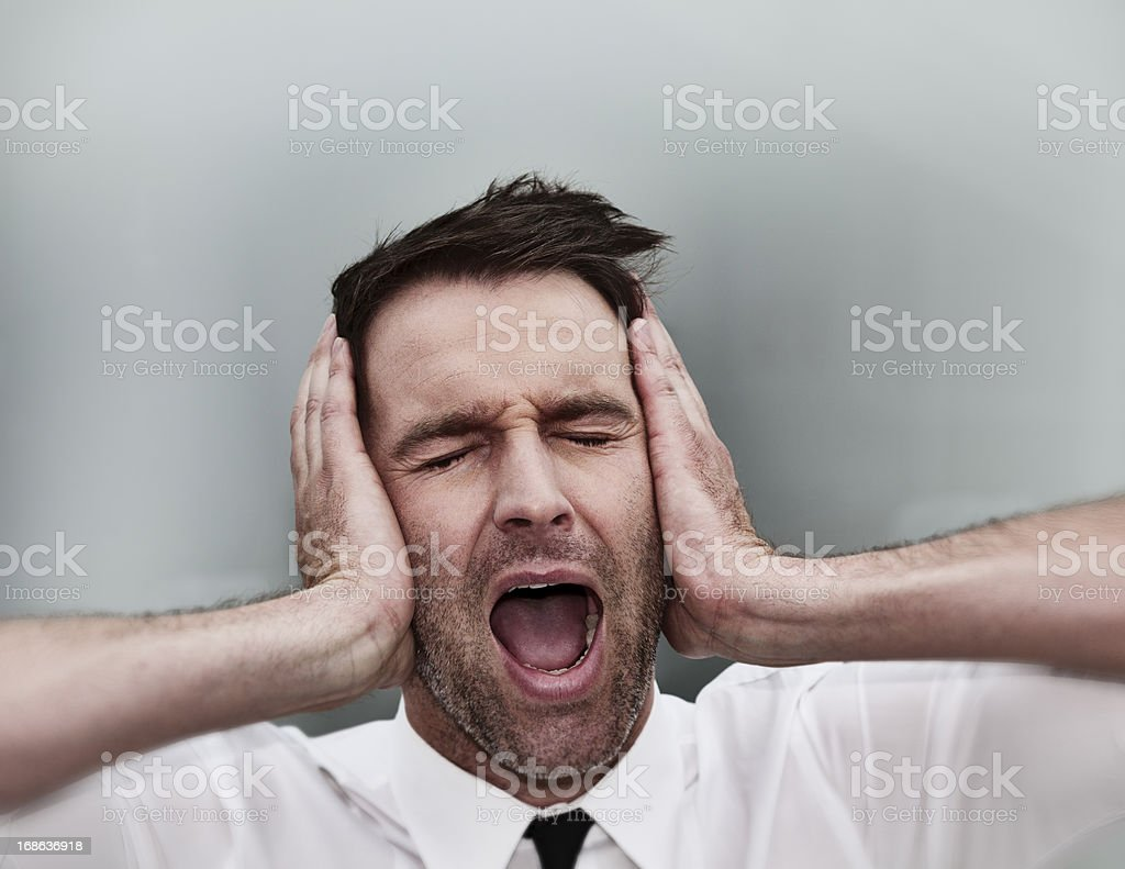 business desperation royalty-free stock photo
